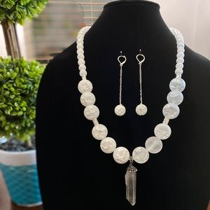 Handmade jewelry set (brand new)